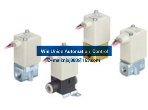 SMC Compact Direct Operated 2 Port Solenoid Valve (2 Way Valve) VDW