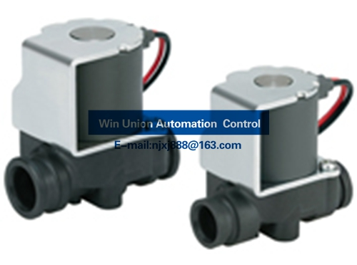 SMC Compact/Lightweight 2 Port Solenoid Valve (2 Way Valve) for Water and Air VDW-XF